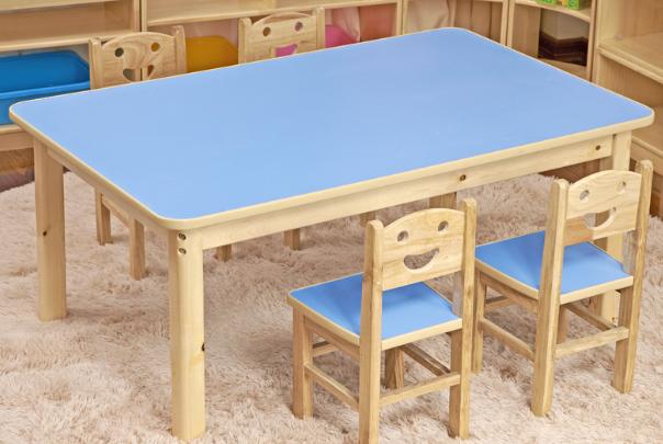 贵州幼儿园家具儿童实木家具课桌椅玩具柜午休床等