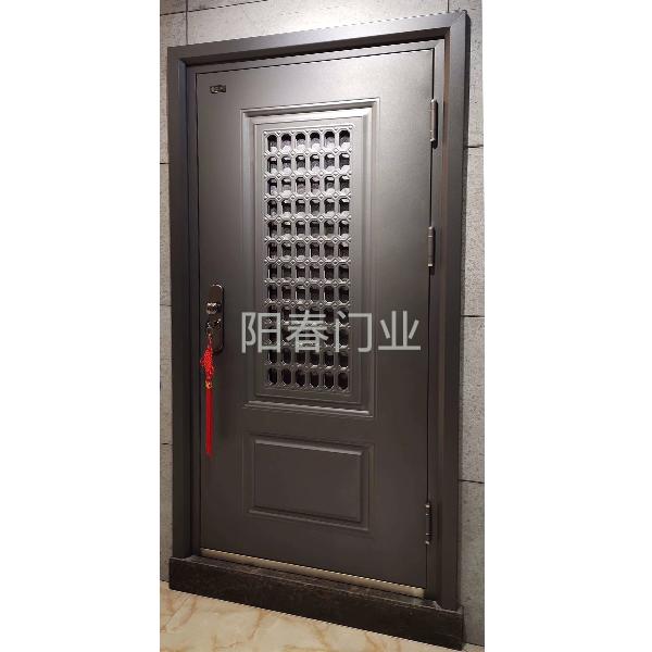 南京防盜門-徳藝(貴府)-門中門可拆卸紗窗-新款卡門