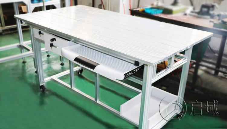 防静电工作台|车间铝型材工作台定制