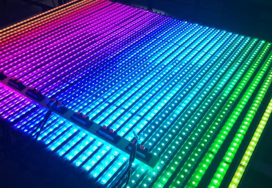 溶洞线条灯 LED溶洞线条灯 轮廓灯 溶洞灯光佛山光点照明
