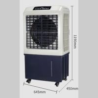 湿膜加湿器 移动式湿膜柜机 湿膜直排水蒸发式加湿器