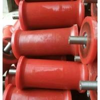 矿用地滚轮,铸钢地滚轮,铸铁地滚轮,钢丝绳托辊