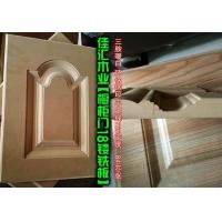 衣柜门橱柜门雕刻镂铣18密度板(三胺暖白环保钢印)
