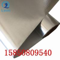 苏州阻燃铝箔编织玻璃纤维布夹筋铝箔布裁剪定制加工批发