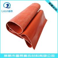 常熟厂家直销红色两布三胶硅胶布销售(地铁轨道)