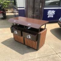 钢木公园小区分类垃圾箱定做