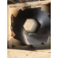 高耐磨双轴碎纸机刀片-大型废纸撕碎机刀片