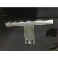 包装机刀片-T型齿刀片-封袋齿刀片