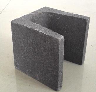 混凝土空心砖-配砖U型半块-过梁门窗省钱