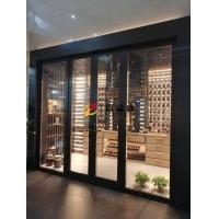 不锈钢定制款式酒柜酒架