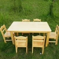 郑州幼儿园实木桌椅 郑州幼儿园橡木桌椅  幼儿?#30333;?#26885;
