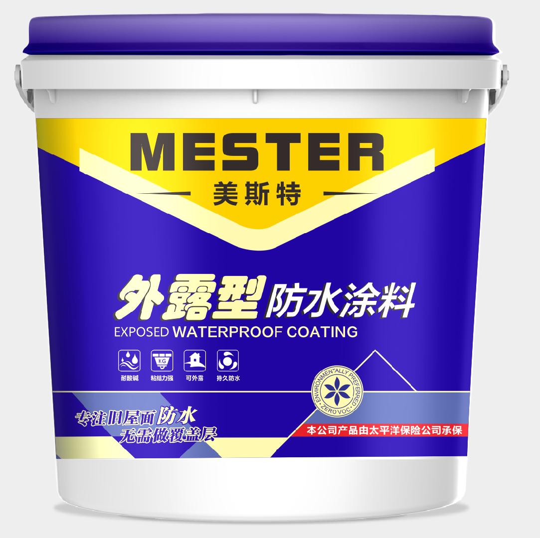 天津外露型防水涂料品牌