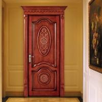 佛山免漆實木門 復合木皮烤漆門 酒店夾板烤漆門 佛山木門