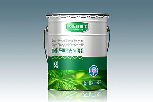箭牌水漆 箭牌纳米抗醛原生态硅藻乳  环保水漆