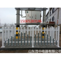 塑钢PVC变压器围栏PVC箱变护栏配电室护栏厂家