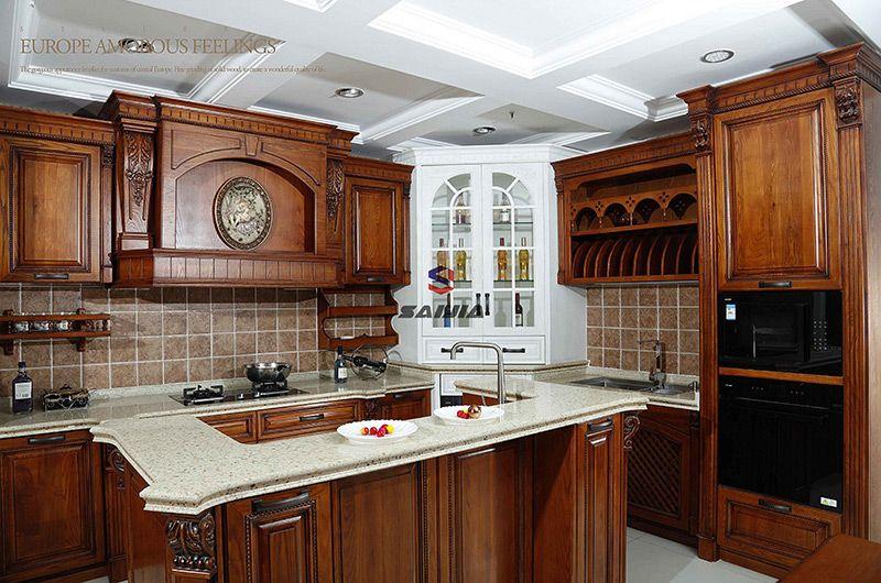 赛嘉实木  美式厨房