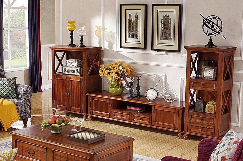 赛嘉实木  美式客厅