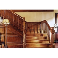 赛嘉实木  美式楼梯