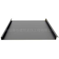 0.8mm氟碳漆铝镁锰屋面板 25-330矮立双锁边金属屋面