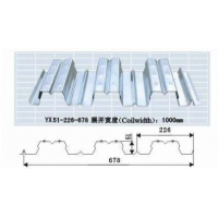 YX51-226-678建筑鍍鋅壓型板Q345材質