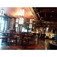 杭州餐廳家具|實木桌椅|卡座軟包沙發定制