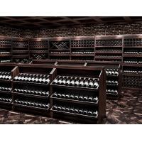 杭州實木酒柜|板式酒柜|不銹鋼酒架|整體酒柜定制