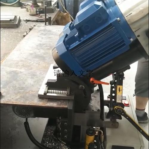 南京自走式平板铣边机 自进式钢板坡口机