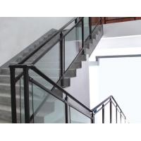 锌钢玻璃楼梯扶手组装式玻璃锌钢楼梯栏杆