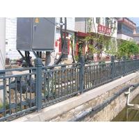 华禹景观河道护栏定制桥梁防撞栏锌钢大桥护栏批发