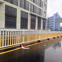 华禹道路中央隔离护栏马路中间栅栏人行道栏杆交通防护栏