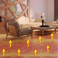 石墨烯地面加热瓷砖木地板家用