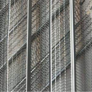 轻钢别墅喷灌浆网膜,挂拉筋网,钢结构厂房建筑免拆网膜