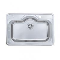 南京美标洁具-厨房水槽大单槽台上厨盆FFASX113