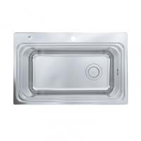 南京美标洁具-厨房水槽大单槽台上厨盆FFASX114