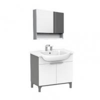 南京浴室柜-美标洁具落地式浴室柜+镜柜CVASNC80
