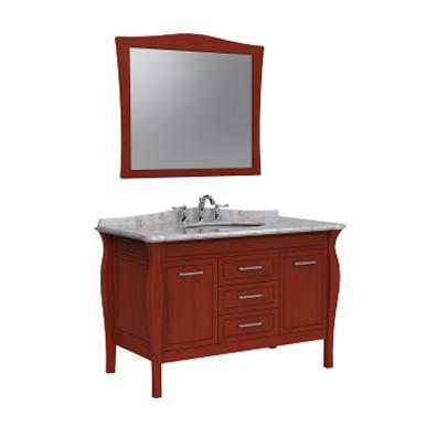 南京浴室柜-美标洁具 擦红浴室柜+擦红镜子CVASSC92