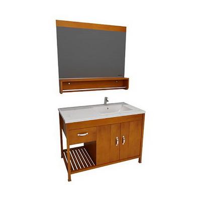 南京浴室柜-美标洁具落地式浴室柜+镜柜CVASND11