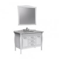 南京浴室柜-美标洁具 哑白浴室柜+哑白镜子CVASSC12