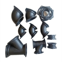 公司銷售B型鑄鐵管 90°彎頭及各種管件 大量現貨