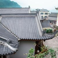 三合院屋面瓦,中式古建筒瓦,高分子復合聚酯瓦