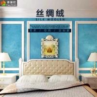 广东包工包料 丝绸绒艺术水漆 大面积墙面漆 环保无味艺术涂料