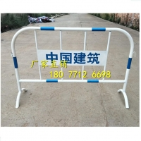 广西黄黑铁马护栏丨道路马路施工护栏丨公路铁马围栏