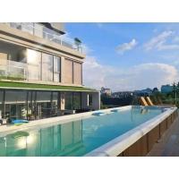 一体式别墅泳池设计,温泉SPA滤水一键开启