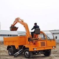 供应四不像随车挖 挖掘机 可改装吊挖运一体机