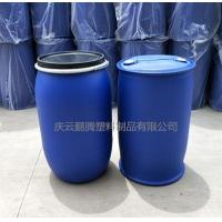 蓝色200升塑料桶200L大口径塑料桶