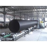 hdpe大口径缠绕管生产线