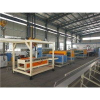 pp塑料建筑模板生产线