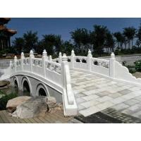 石雕栏杆-河道栏杆-天然大理石雕刻围栏