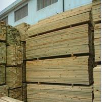 户外樟子松防腐木材料直销加工厂