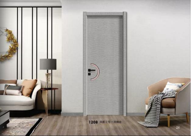 广东生态门厂家生态橡木门碳晶板生态门好万家木门